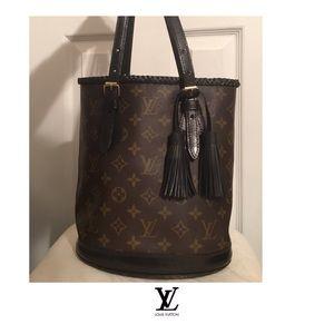 Louis Vuitton Vintage Bucket Bag Petit Authentic